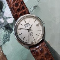 Seiko King Steel 36mm White No numerals Thailand, Muang District
