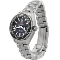 Omega Seamaster Planet Ocean Steel 37.5mm Black Arabic numerals United States of America, New Mexico, hobbs