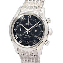 Omega De Ville Co-Axial neu Automatik Chronograph Uhr mit Original-Box und Original-Papieren 431.10.42.51.01.001