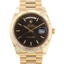 Rolex (ロレックス) デイデイト 40 新品 2021 自動巻き 正規のボックスと正規の書類付属の時計 228238