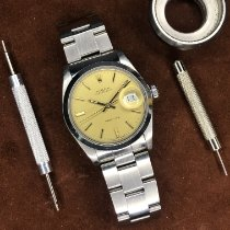 Rolex Oyster Precision Steel 34mm Champagne No numerals United Kingdom, Kingston upon Thames