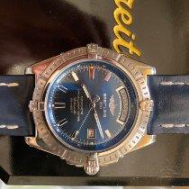 Breitling Headwind Steel 43mm Blue No numerals