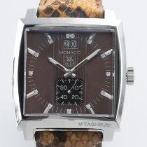 TAG Heuer Monaco Lady Steel 36mm Brown