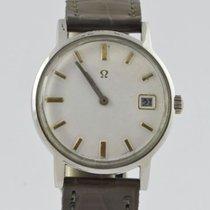 Omega De Ville pre-owned 35mm Leather
