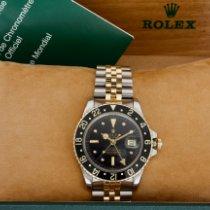 Rolex GMT-Master Oro/Acciaio 40mm Nero Senza numeri Italia, Este