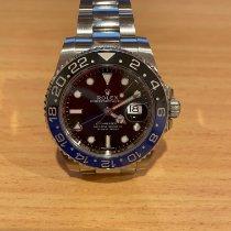 Rolex GMT-Master II Steel 40mm Black No numerals Australia, 2154