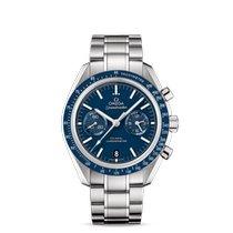Omega Titanium Automatisch Blauw Geen cijfers 44.2mm nieuw Speedmaster Professional Moonwatch