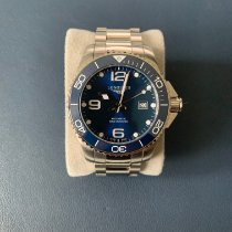 Longines HydroConquest pre-owned 43mm Blue Date Steel