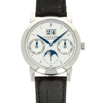 A. Lange & Söhne Saxonia White gold 38.5mm Silver United States of America, California, Beverly Hills
