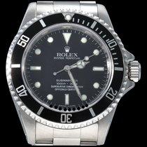 Rolex Submariner (No Date) Acier 40mm Noir Sans chiffres Belgique, Brussel