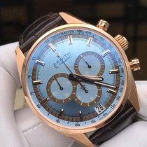 Zenith El Primero Rose gold 42mm Blue UAE, Dubai
