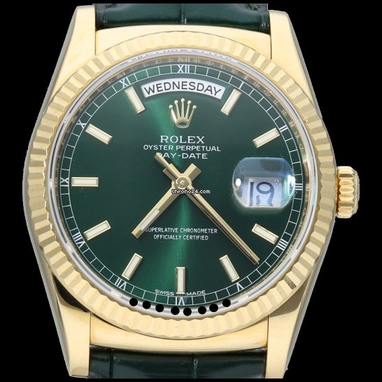 Rolex Day-Date 36 118138 2017 occasion