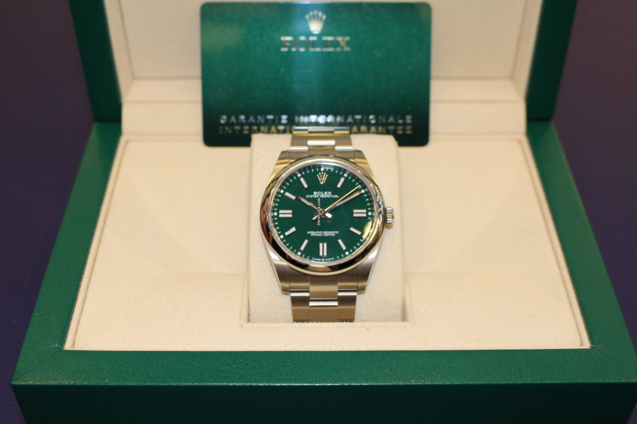 Rolex Oyster Perpetual 124300 2021 gebraucht