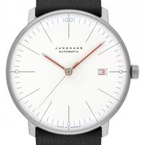 Junghans Steel 38mm Automatic 027/4009.02 new