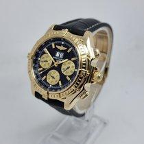Breitling Crosswind Special Oro amarillo Negro Sin cifras