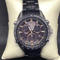 Seiko Astron GPS Solar Chronograph pre-owned Black Ceramic