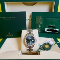 Rolex Datejust Steel 31mm Green Australia