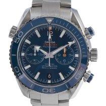 Omega Seamaster Planet Ocean Chronograph Titanium 45.5mm Blue