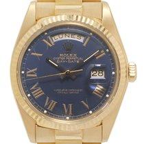 Rolex Day-Date 36 Oro amarillo 36mm Azul Romanos España, Madrid