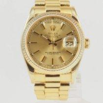 Rolex Day-Date 36 Yellow gold 36mm Gold No numerals United States of America, California, Newport Beach, Orange County, CA