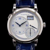 A. Lange & Söhne new Manual winding Display back Small seconds Power Reserve Display Limited Edition 38.5mm White gold