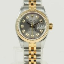 Rolex Lady-Datejust pre-owned 26mm Mother of pearl Date Gold/Steel