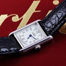 Cartier Silver Quartz 2416 pre-owned