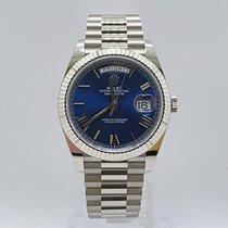 Rolex (ロレックス) デイデイト 40 新品 2021 自動巻き 正規のボックスと正規の書類付属の時計 228239