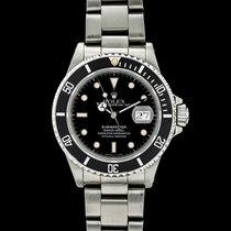Rolex Submariner Date usato 40mm Nero Data Acciaio