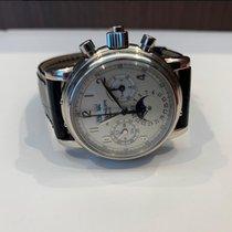 Patek Philippe Perpetual Calendar Chronograph nouveau 2006 Montre avec coffret d'origine et papiers d'origine 5004G