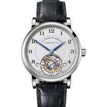 A. Lange & Söhne Platinum 40mm Manual winding 730.025 pre-owned United States of America, California, Newport Beach