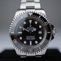 Rolex Sea-Dweller Deepsea Steel 44mm Black No numerals Australia