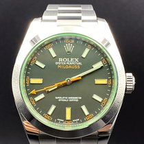 Rolex Steel 40mm Automatic 116400GV pre-owned