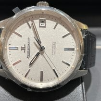 Jaeger-LeCoultre Geophysic True Second Steel 39.6mm White No numerals