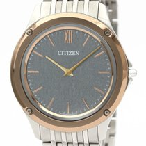 Citizen Eco-Drive One pre-owned 39mm Grey Steel