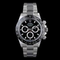 Rolex Steel Automatic Black No numerals 40mm new Daytona