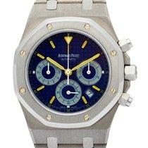 Audemars Piguet Titanium Automatic Blue pre-owned Royal Oak Chronograph