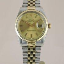 Rolex 1601 Gold/Stahl 1976 Datejust 36mm gebraucht