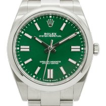 Rolex Oyster Perpetual Acero 41mm Verde