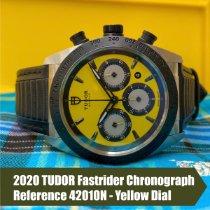 Tudor Fastrider Chrono nouveau 2020 Remontage automatique Chronographe Montre avec coffret d'origine et papiers d'origine 42010N
