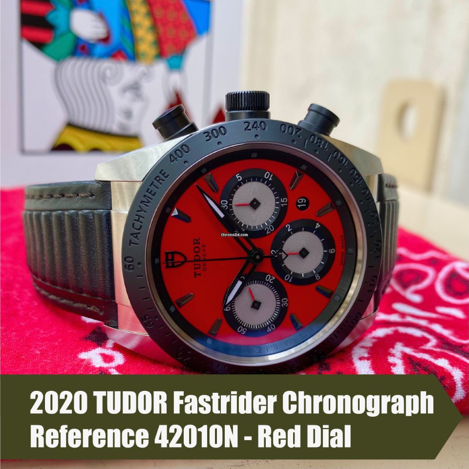 Tudor Fastrider Chrono 42010N 2020 new