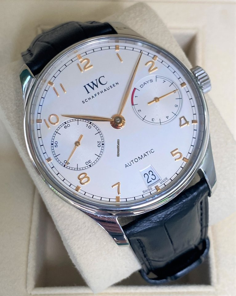 IWC Portuguese Automatic IW500704 2017 pre-owned