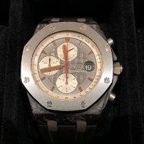 Audemars Piguet Koolstof Automatisch Grijs 42mm tweedehands Royal Oak Offshore Chronograph