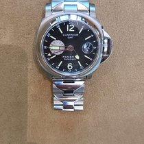 Panerai Luminor GMT Automatic подержанные 44mm Черный Дата GMT/две час.зоны Титан