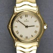 Ebel Classic Желтое золото 23mm Белый Римские Россия, Saint-Petersbrug