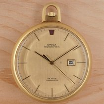 Omega Watch pre-owned 1973 Yellow gold 48mm Quartz Watch only
