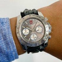 Tudor Sport Chronograph Steel 41mm Grey No numerals