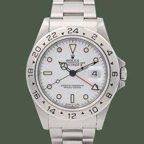 Rolex Explorer II Acciaio 40mm Bianco Senza numeri Italia