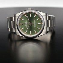 Rolex Oyster Perpetual 34 Acciaio 34mm Verde Senza numeri Italia, Cascina  (PI)