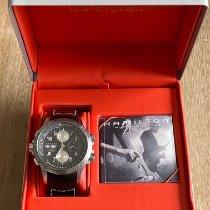 Hamilton Khaki X-Wind Acier 44mm Noir Arabes France, Andilly